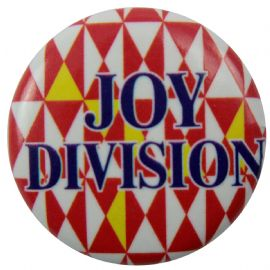 Joy Division - 'Triangles' Button Badge